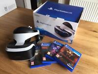PlayStation VR (PSVR) + Resident Evil VII, PlayStation Worlds, Here They Lie and Rush Of Blood
