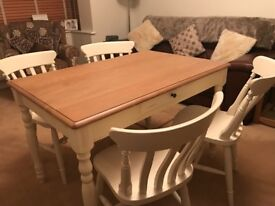 John Lewis Table and Four chairs in fantastic condition