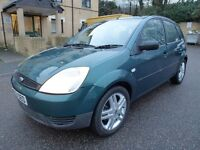 2003 Ford Fiesta 1.4 TDCI 5 door, only 96.000 miles, hpi clear £650