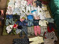 Baby boy clothes bundle 0-6 months EDINBURGH or GOREBRIDGE