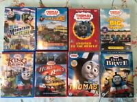 Eight Thomas & Friends DVDs
