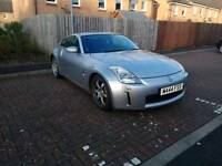 Nissan 350z 2004 Silver - Only 52000 miles - Needs a little work