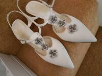 Size 7 wedding and party heels