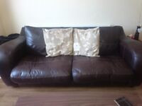 FREE 3 seater and 2 seater settees, some wear and tear but can be hidden with covers. Very comfy