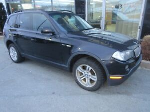 2007 BMW X3 3.0i AWD WITH PANO ROOF