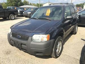 2004 Ford Escape CALL 519 485 6050 CERT AND E TESTED London Ontario image 1
