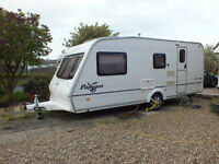 2003 four berth touring caravan in excellent condition