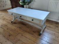 Beautiful Vintage Painted Coffee Table, lovely features.