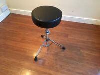 Wokingham Drum Sales - Sturdy Drum Stool With Deep Padded Seat