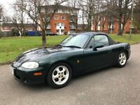 Mazda MX-5 British Racing Green Model good condition must be seen