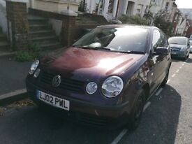 £1900 ono VW Polo only 54k mileage 12 month MOT, automatic gear box, petrol