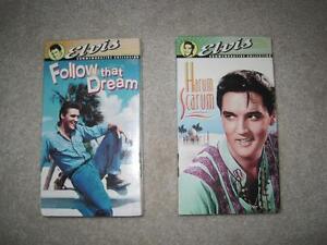 Elvis Presley      Movies VHS tapes