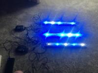 Aquaray led fish tank lights and controllers