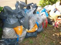 Free: Rubble in 10+ bags in front garden for easy loading.
