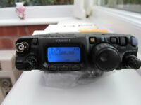 YAESU FT817nd with lots of extras, pristine con'd ,boxed as new