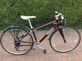 Ladies Pinnacle Hybrid Bicycle