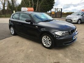2011 BMW 1 Series 116d Diesel 3 Door **FINANCE AND WARRANTY** (a3,mini,golf,leon)
