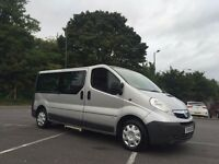 IMMACULATE VAUXHALL VIVARO MINIBUS LONG WHEEL BASE 8 SEATER MINI BUS FULL SERVICE HISTORY ONE OWNER