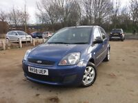 FORD FIESTA 1.2 STYLE 5DR LOW MILES, IDEAL CHEAP FIRST CAR + LONG MOT + SERVICE BILLS + AUX