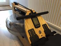 Water Rower A1 - handcrafted in solid ash and features aluminium mono-rail design plus A1 monitor.