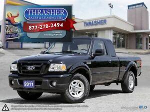 2011 Ford Ranger Sport, 4.0L, Alloys, Only 83, 811 KMS!