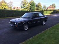 BMW E30 318i CLASSIC COUPE - BBS CHROME ALLOYS