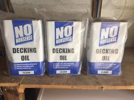 Decking oil (clear)