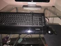 Sandstorm keyboard & hp wireless mouse