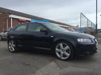 2008 AUDI A3 S-LINE TDI 2.0 DIESEL *FULL LEATHER INTERIOR* MARCH 2019 MOT NO ADVISORIES