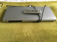 JVC DVD Player XV-N212 in box, manual, remote included
