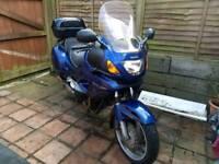 Motorcycle Honda Deauville