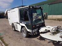 Hot washer street cleaner,pressure washer, plant equipment road sweeper tractor