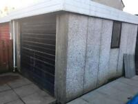 Concrete panel garage FREE