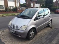 Mercedes A170 Elegance - Spares or Repairs - 9 months MOT - Excellent Condition