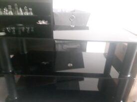 Slimline tv stand