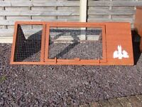 Rabbit Hutch & Run & Cover