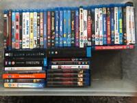 50 Blue Rays. All perfect working order.
