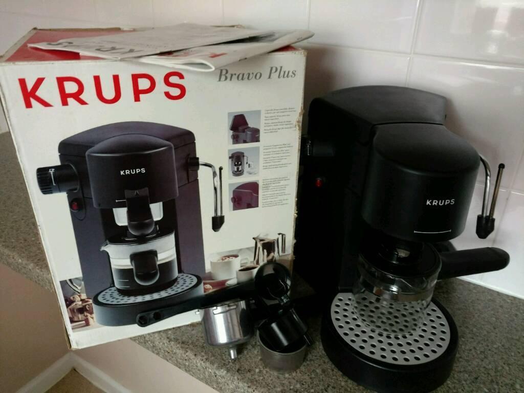 krups bravo plus 872 espresso cappuccino machine in norwich norfolk gumtree. Black Bedroom Furniture Sets. Home Design Ideas