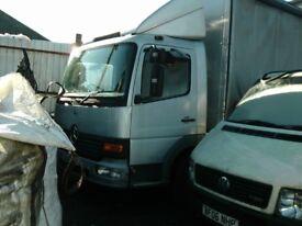 Mercedes Benz Atego Van 2003, excellent condition, runs well