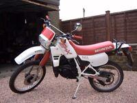 NOW SOLD Honda MTX 125cc Motorcycle 1989