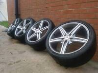 """CHEAP 18"""" MERCEDES AMG 5X112 ALLOY WHEELS AND TYRES"""