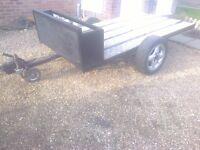 8x4 car trailer many uses