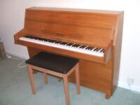 Upright modern piano for sale