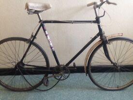 Vintage steel bike