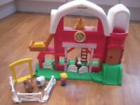 Fisher Price Little People Fun Sounds Farm in fantastic condition