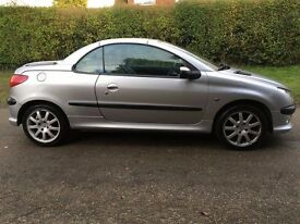 WANTED, PEUGEOT 206 0R 207 CC CONVERTIBLE, GOOD HOME WAITING FOR THE RIGHT PROJECT CAR