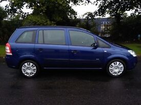 2008 vauxhall zafira 1,6 cc ,,,credit or debit cards accepted