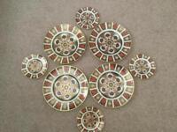 Royal crown derby china 1128 Imari plates