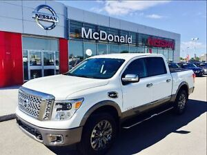 2017 Nissan Titan Platinum Reserve One Owner-Clean CarProof