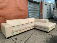 Real leather corner sofa delivery 🚚 sofa suite couch furniture